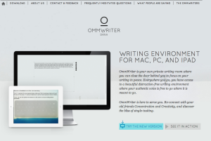 OmmWriter's website offers plenty of information about the app and how it works.