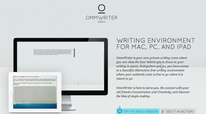 App Review: OmmWriter (for Mac)