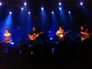 Mumford & Sons from our perspective at the Buckhead Theater in Atlanta