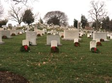 Arlington. It was a very cold day.