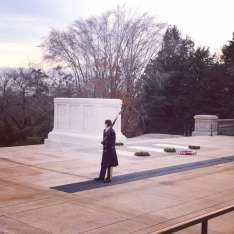 Our trip into DC (after we left NJ) found us visiting mostly with friends, but we did slip out for a trip to see Arlington Cemetery -- my first. The changing of the guard is a powerful moment.