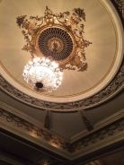 This is the interior of the Cort Theater where we saw the play. Such a lovely, older theater in the Broadway district, a couple blocks from Time Square.