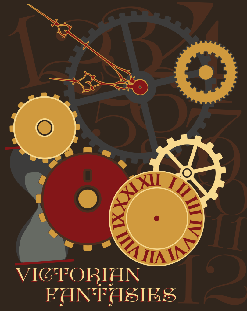 Time is certainly a machine that drives MY life.  So if we translate that into a steampunk-ish Victorian vibe, maybe it would look like this?