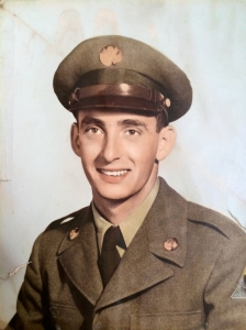 My father, January 1953, Fort Hood, Texas (US Army)