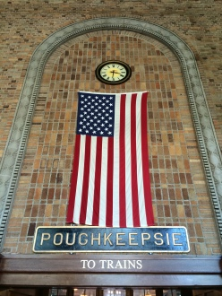 Poughkeepsie train station
