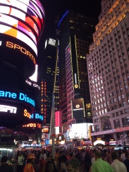 Really. It's Times Square.