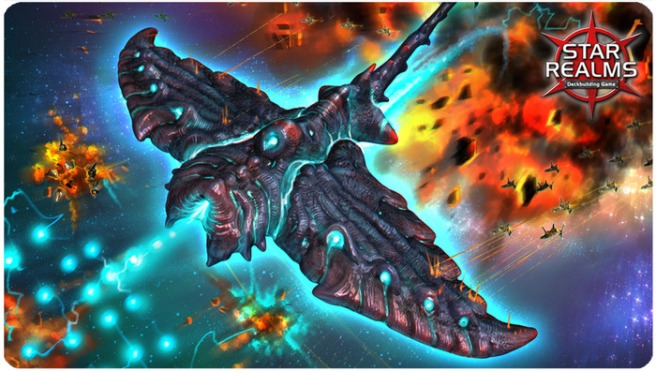 An example of the Star Realms art style (from Kickstarter)