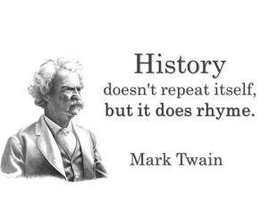 History rhymes