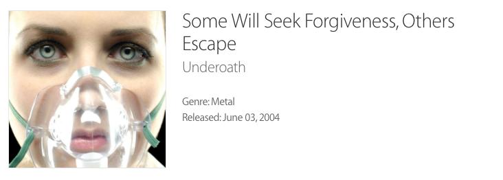 Underoath Album Cover