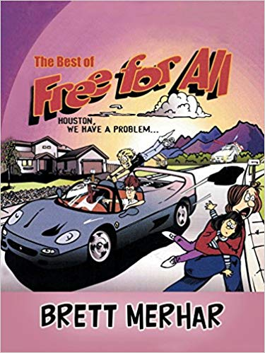Free for All comic strip collection book cover