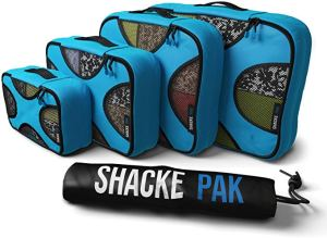 How to use packing cubes Shacke Pack