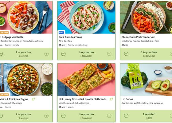 HelloFresh meal kit review May 2020