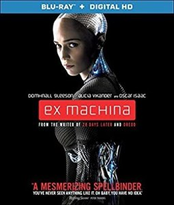 Blu-Ray case cover for Ex Machina
